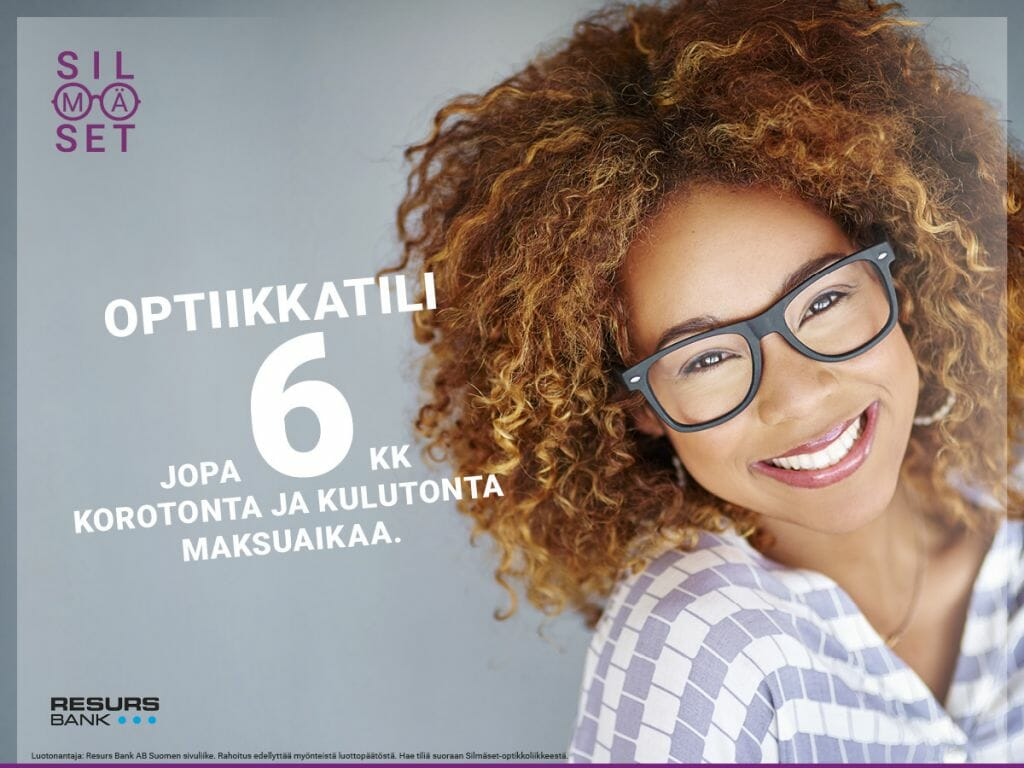 Optiikka-tili Silmäset / Resurs Bank